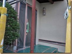 01玄関の塗装目張り12-6-29