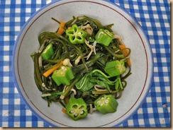 02ネバネバ野菜の醤油煮12-7-24