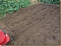 02耕運機で土をかき混ぜる14-9-24